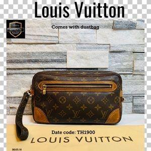 Louis Vuitton Clutch bag marly dragonne GM Monog.
